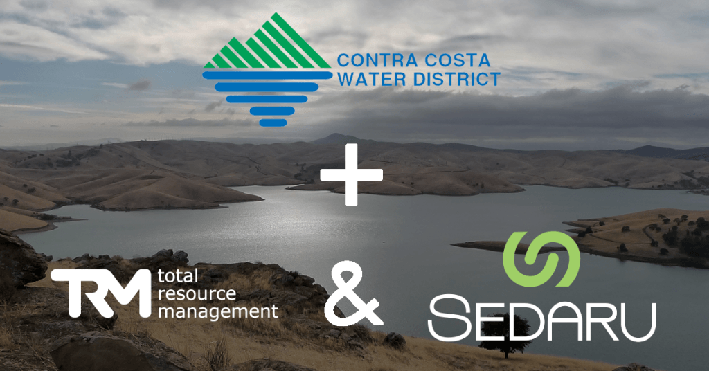 <b>Contra Costa Water District Selects Total Resource Management with Sedaru, Inc. for its Enterprise Asset & Operational Management System</b> 1