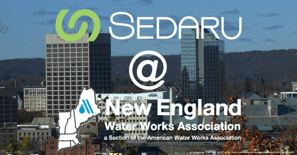 <b>Sedaru @ NEWWA Spring Conference April 3-4</b> 1