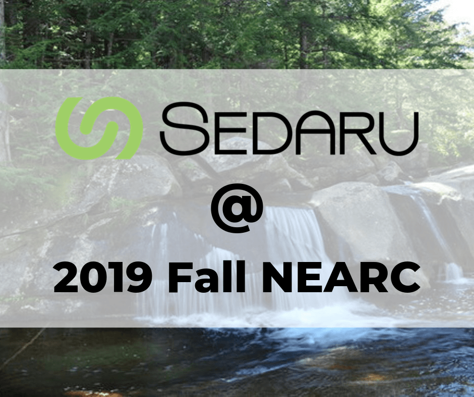 Sedaru at Fall NEARC October 20 - 23 1