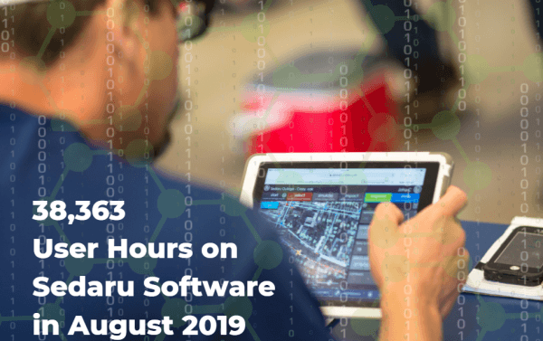 Utility Users Spend Nearly 40,000 Hours on Sedaru Software in August 4