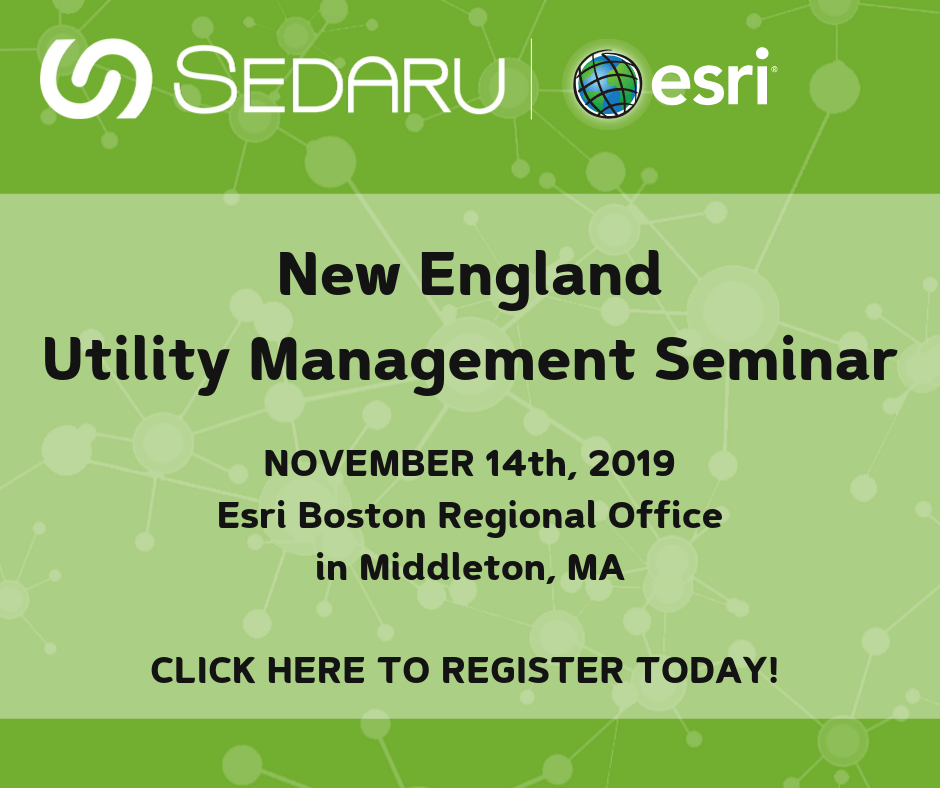Register Now for the New England Utility  Management Seminar on November 14th 1