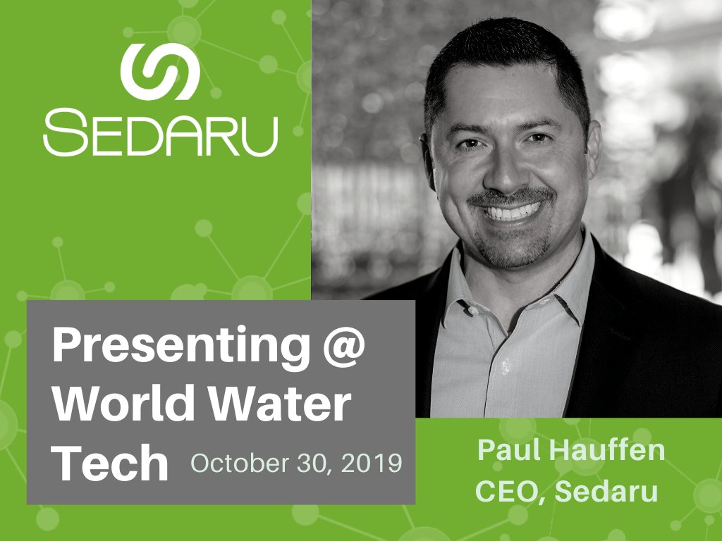 "Paul Hauffen Presents ""Driving Utility Automation - Making Real-Time Operations a Reality"" at World Water-Tech! 1"